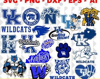 Kentucky wildcats svg etsy. Wildcat clipart wildcat ky