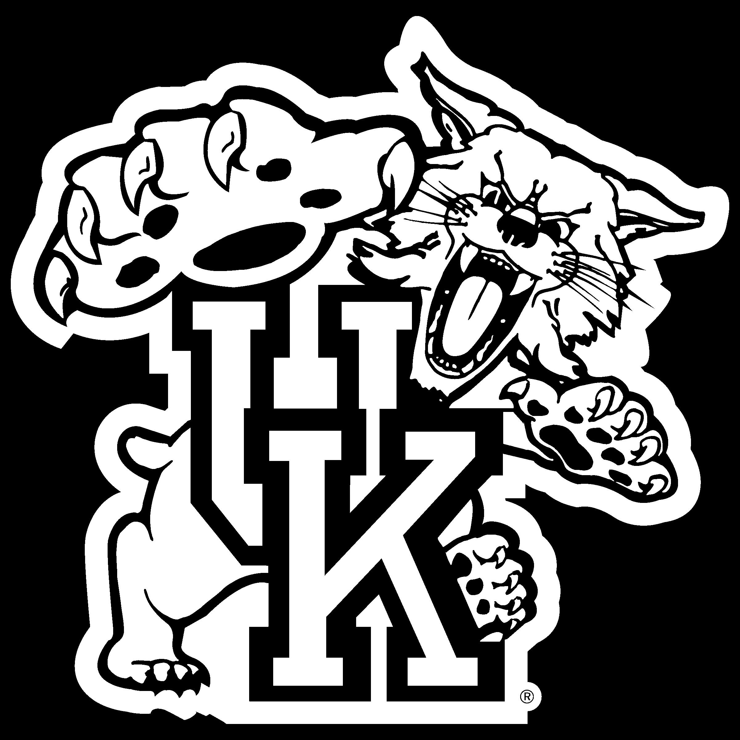 Wildcat clipart wildcat ky. Kentucky wildcats logo png