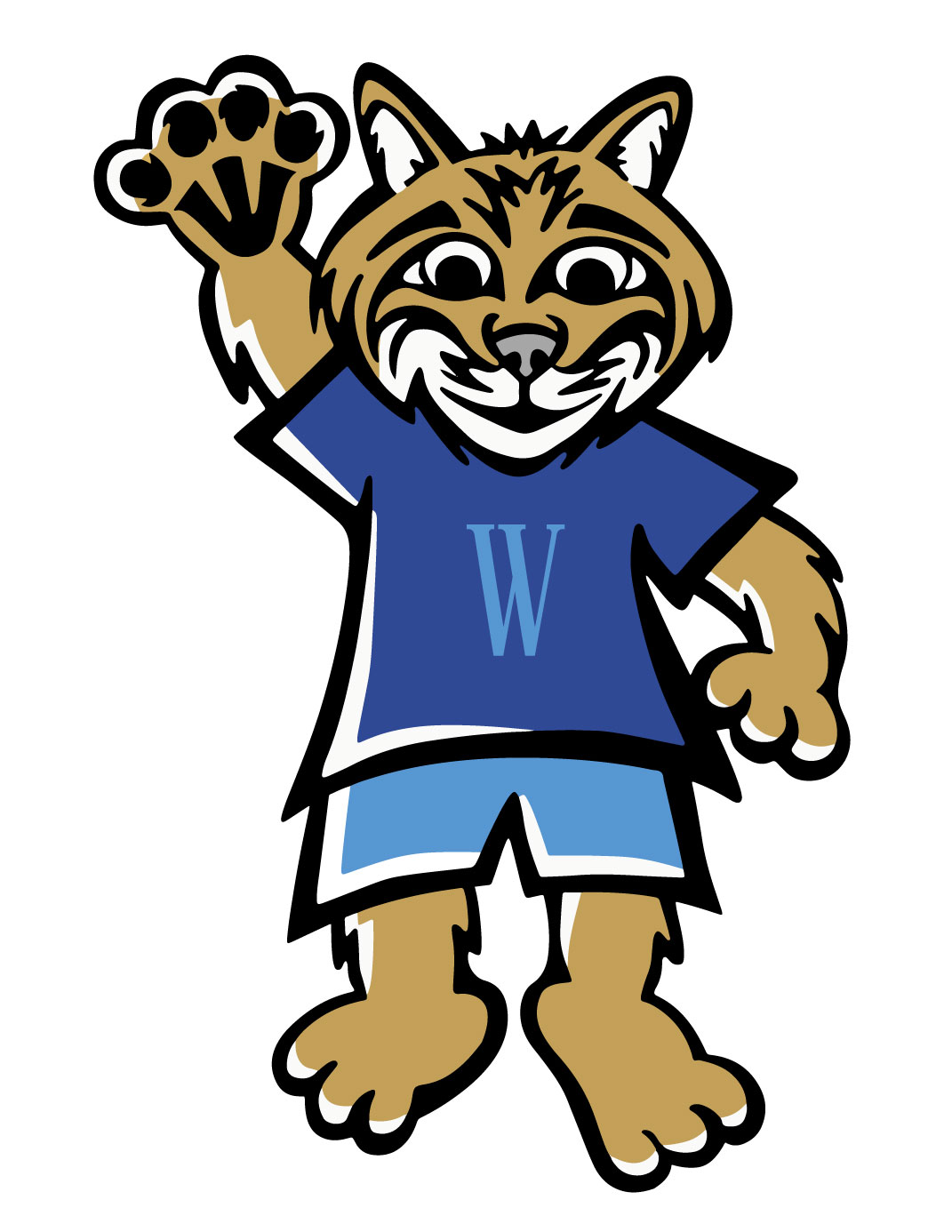 Transparent png free download. Wildcat clipart wilson