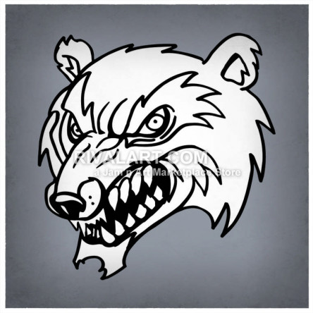 On rivalart com . Wildcat clipart wolverine