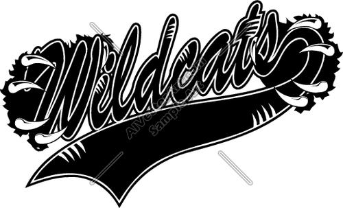 Wildcat clipart word. Wildcats look at clip