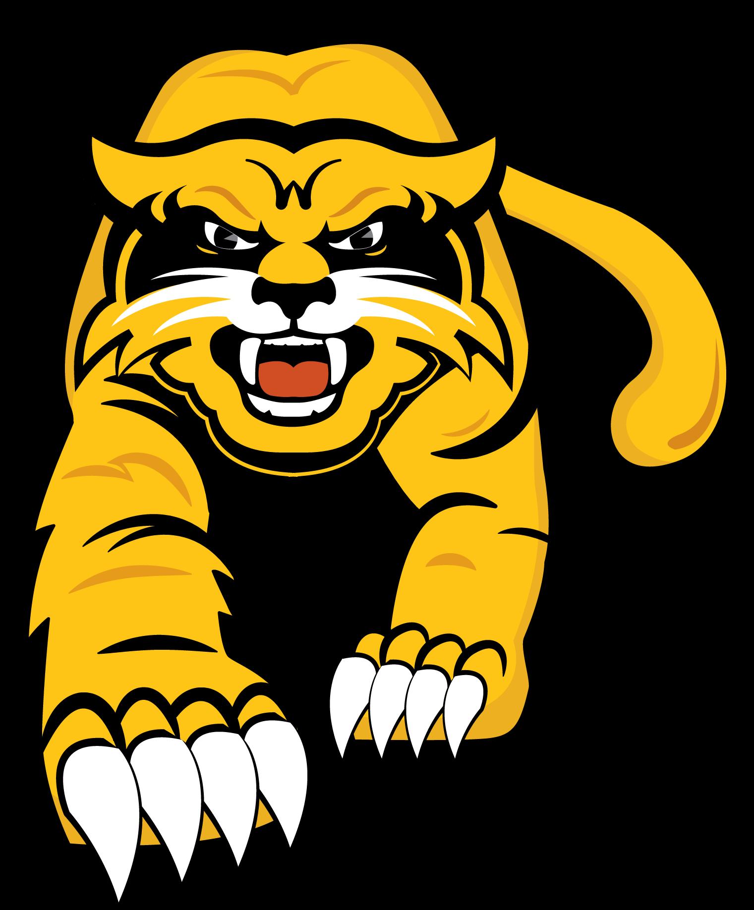 Wildcat clipart yellow. Free school logos now