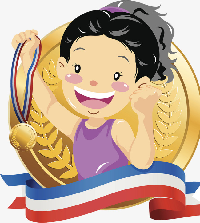 Win clipart. Gymnastics competition to medals