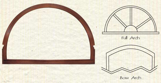 Win clipart arch window. Full and bow arched