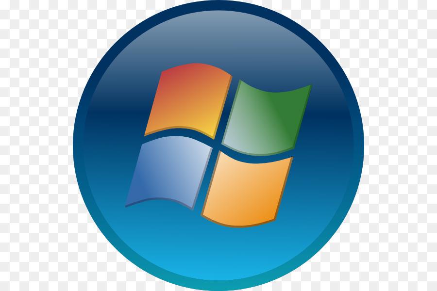 Windows start icon button. Win clipart blue window