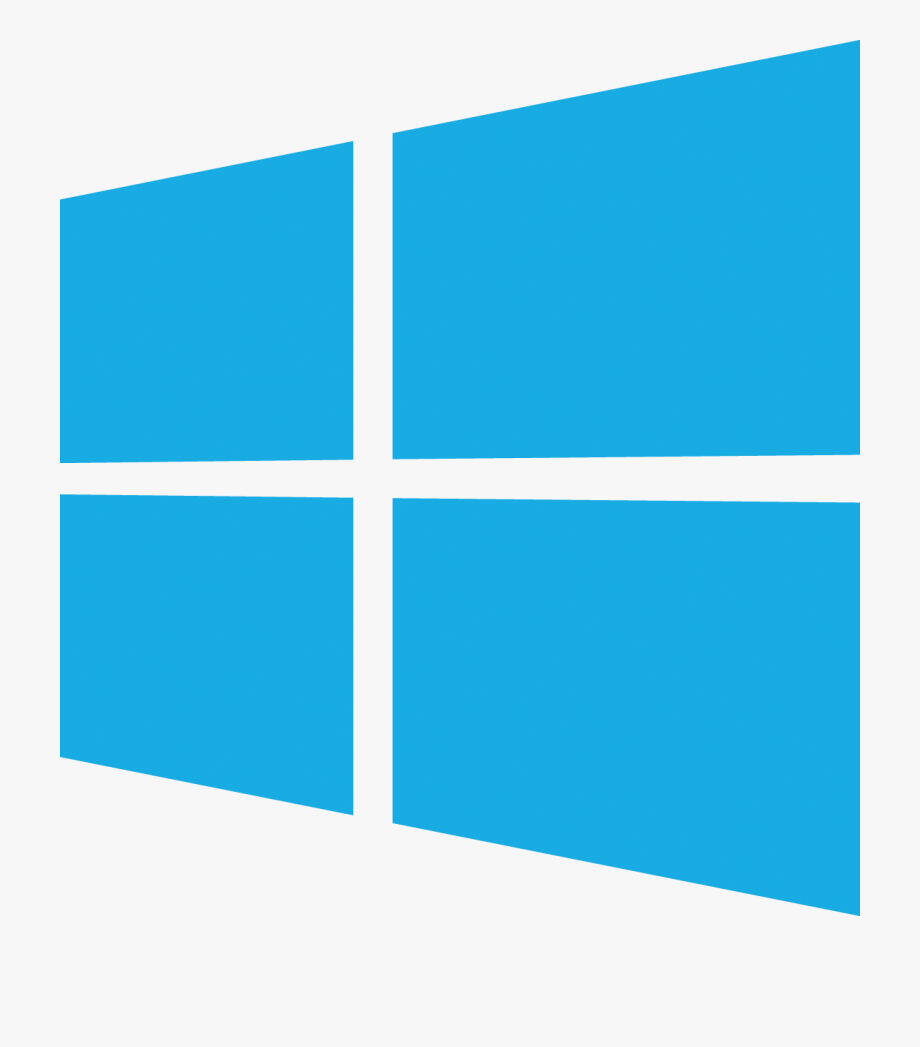 Windows logo icon svg. Win clipart blue window