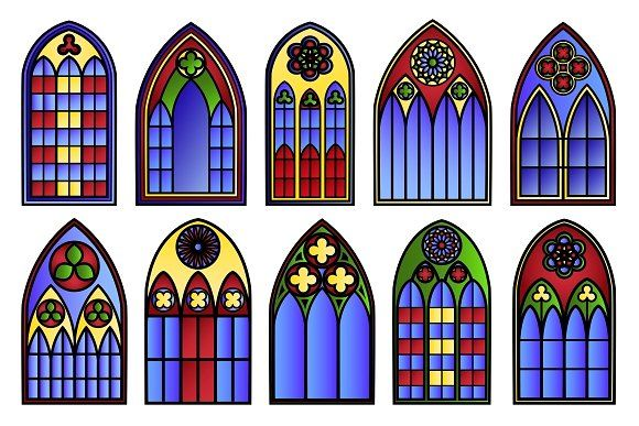 Pin on evan . Win clipart cathedral window