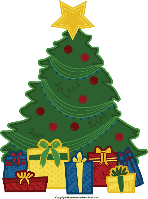 Free tree . Win clipart christmas