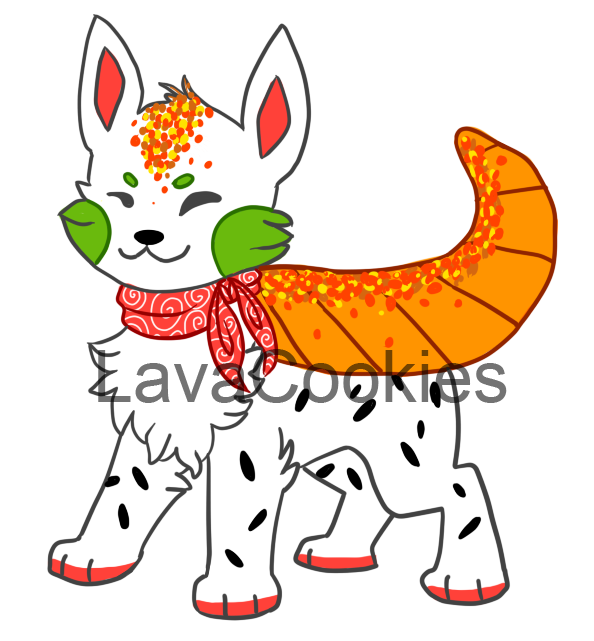 Win clipart frosted. Feature a sushi dog