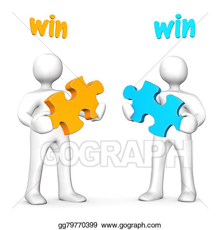 Win clipart illustration. Stock business illustrations