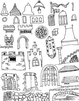 Pin on art lessons. Win clipart medieval window