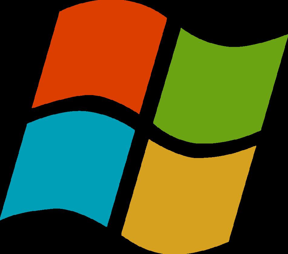 Windows symbol mark dbe. Win clipart modern window