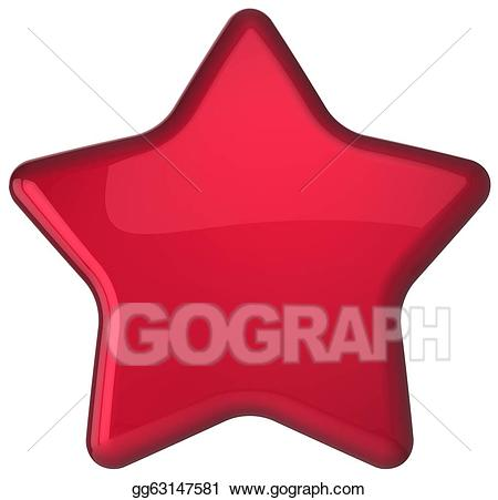 Stock illustrations red star. Win clipart shape