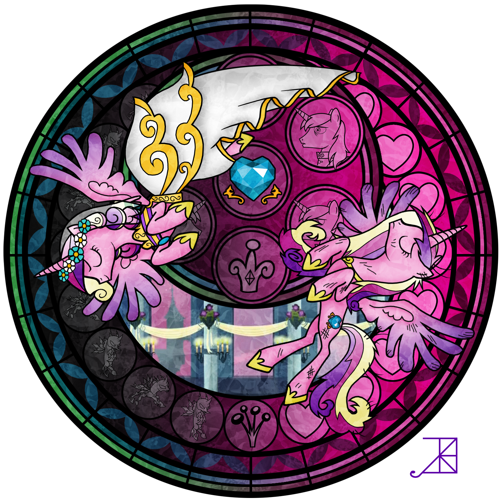 Win clipart stained glass.  artist akili amethyst