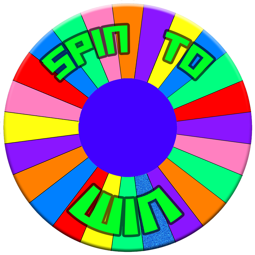 Win clipart transparent. Spin to logo by