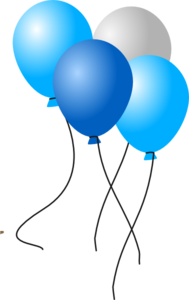 Balloons clip art at. Win clipart w be for