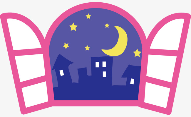 Win clipart window night. Picture