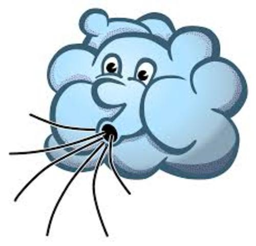 Get out your coat. Wind clipart