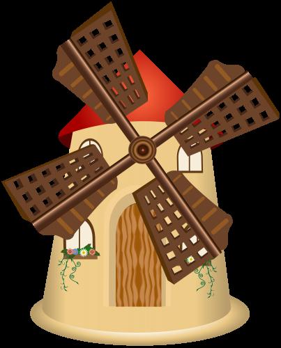 Png clip art best. Windmill clipart