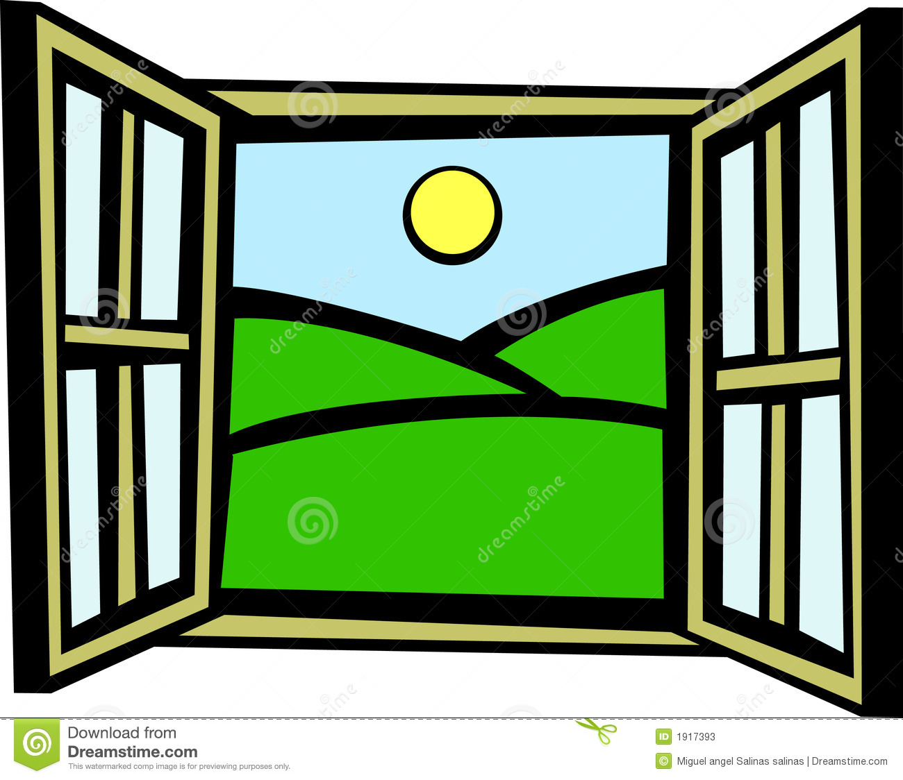 Window clipart. Outside panda free images