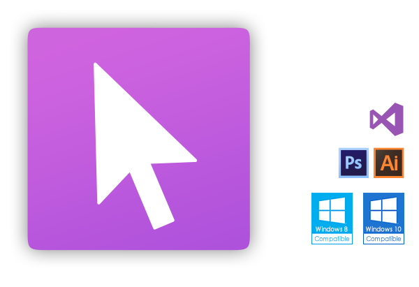 Windows 10 cursor png. Axialis software cursorworkshop image