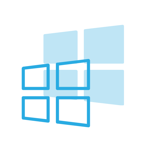 Logo brand operating system. Windows 10 icon png