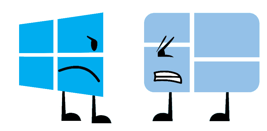 Windows 10 logo png. Image vs battle for