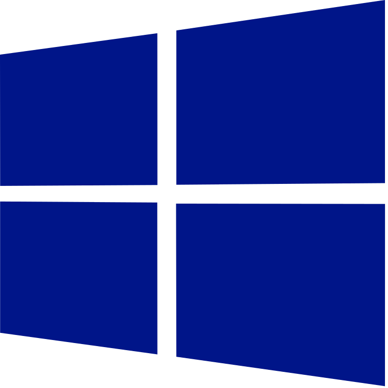 Windows 10 logo png. File blue purple svg