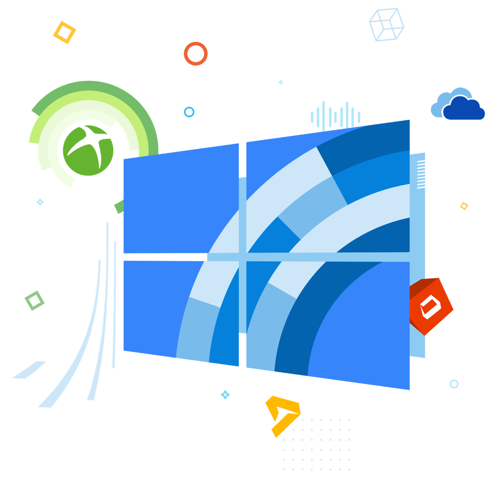 Windows 10 logo png. Central