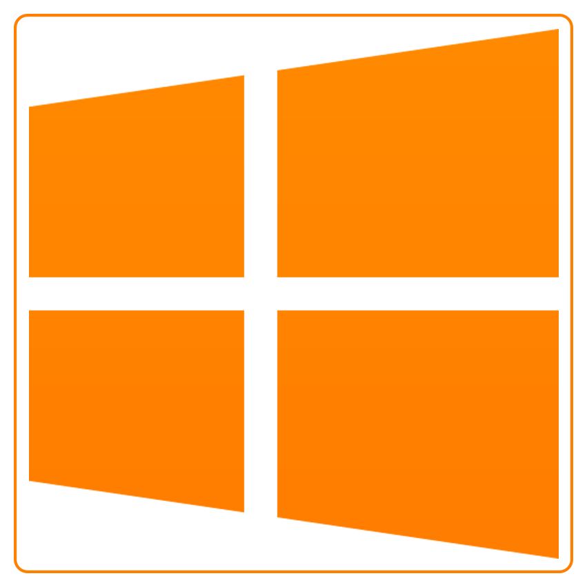 Windows 10 png. Facebook social media icon