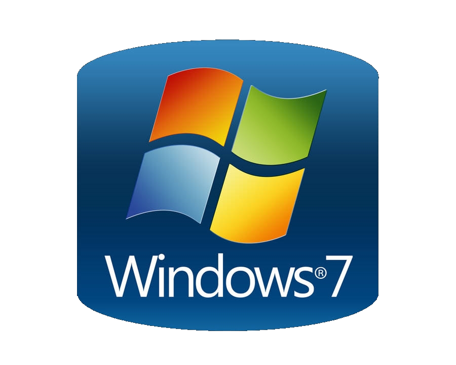 Windows 7 png. Sticker computer software microsoft