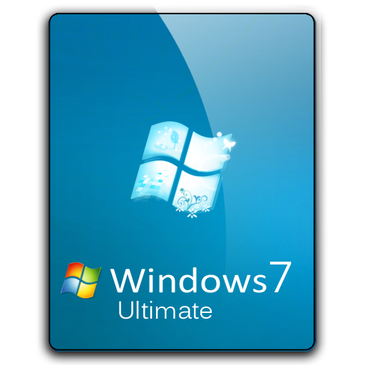 Windows 7 png. Ultimate dock icon by