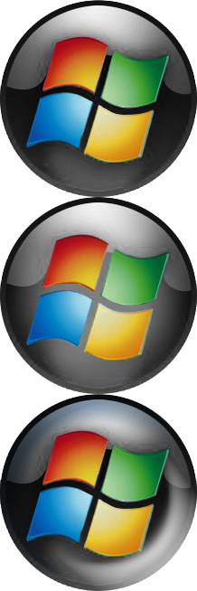 Classic shell view topic. Windows 7 start button icon png