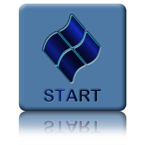 menu for free. Windows 7 start button icon png