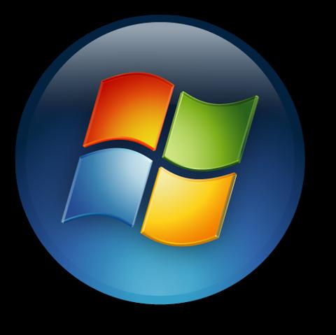 windows 7 start button png