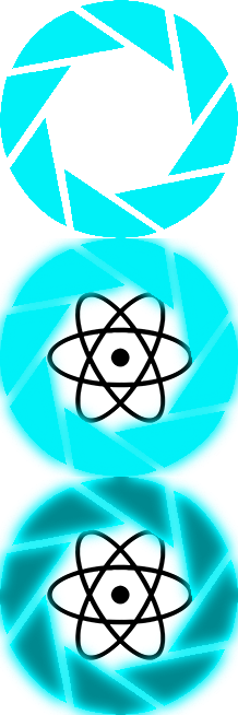 Windows 7 start icon png. Aperture logo classic shell