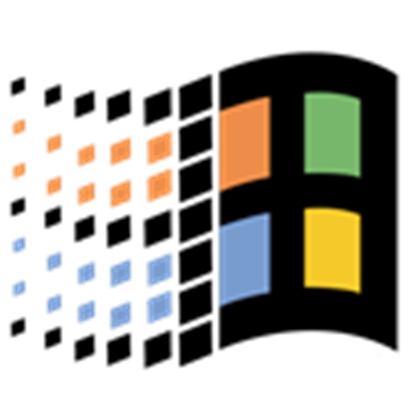Windows 95 logo png. Roblox