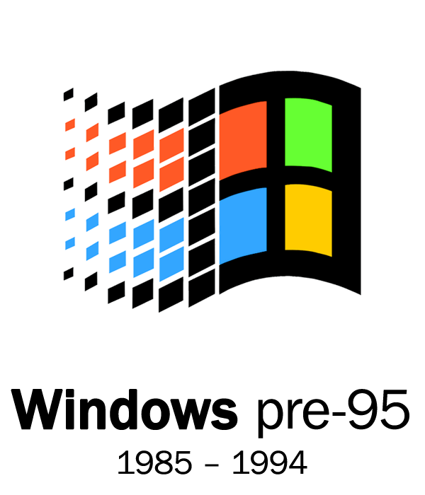 Windows 95 logo png. Logos