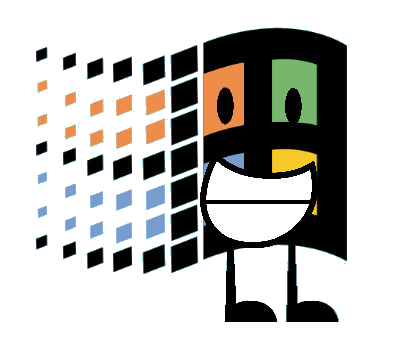 Image battle for dream. Windows 95 logo png