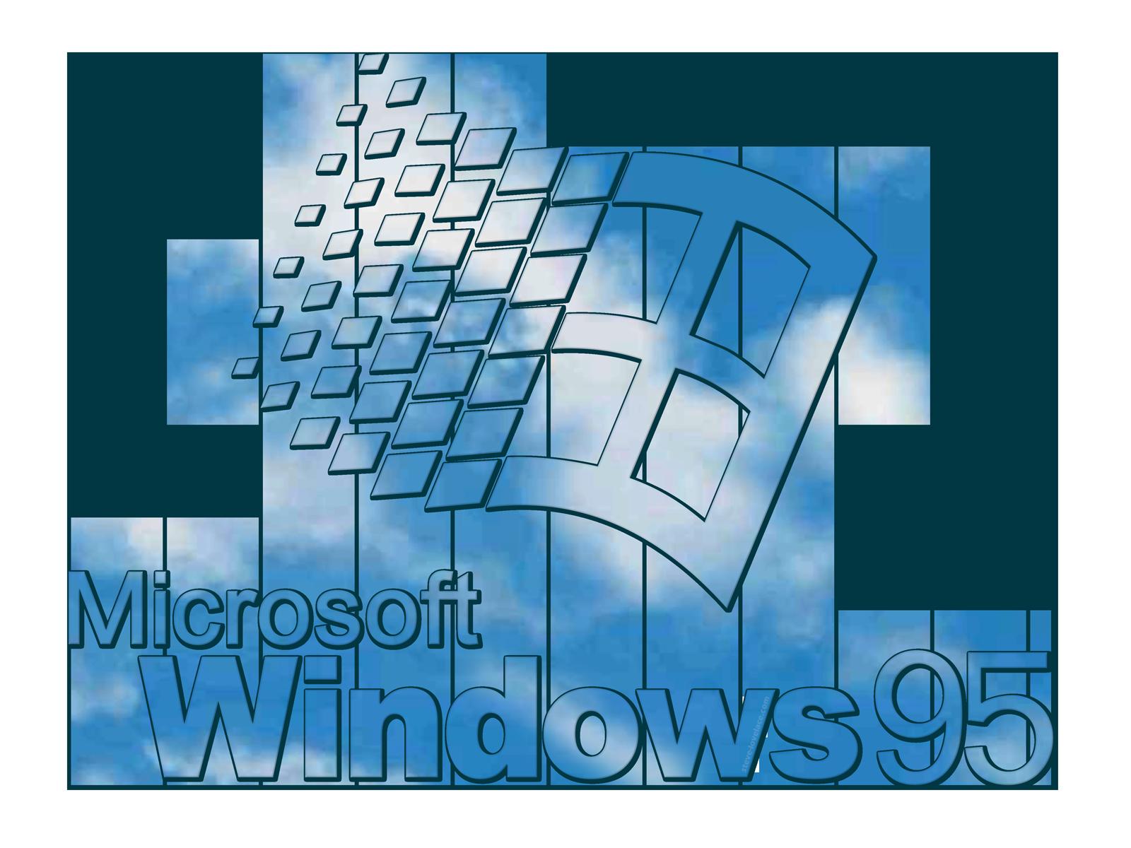 Starting up steve lovelace. Windows 95 logo png