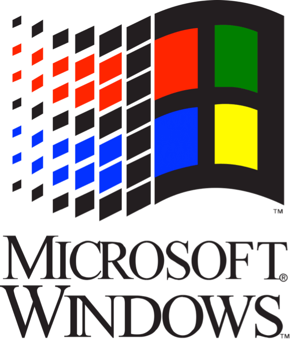 What can teach you. Windows 95 logo png