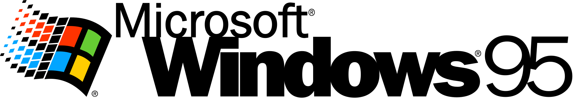 Windows 95 logo png. File svg wikimedia commons