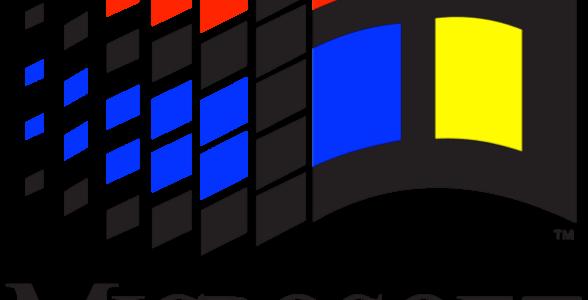 Windows 95 logo png. Infostretch