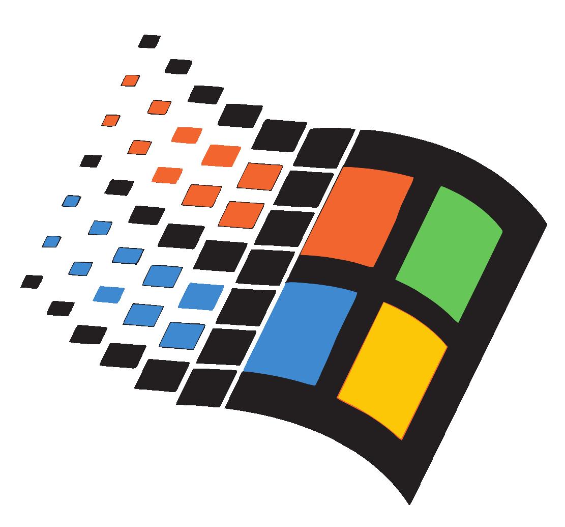 Xp logos download. Windows 95 logo png