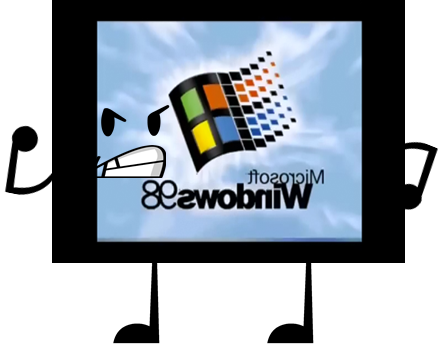 Image object shows community. Windows 98 png