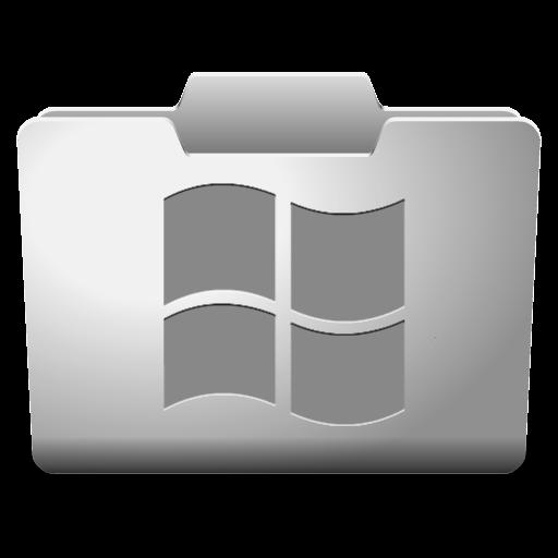 White icon classy icons. Windows folder png