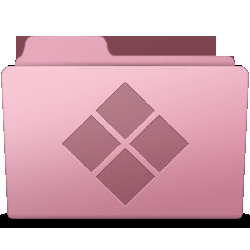 Windows folder png. Sakura icon smooth leopard