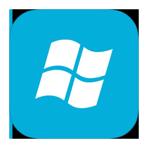 Windows icon png. Ios style metro ui