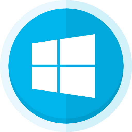 Icons for free computers. Windows logo png