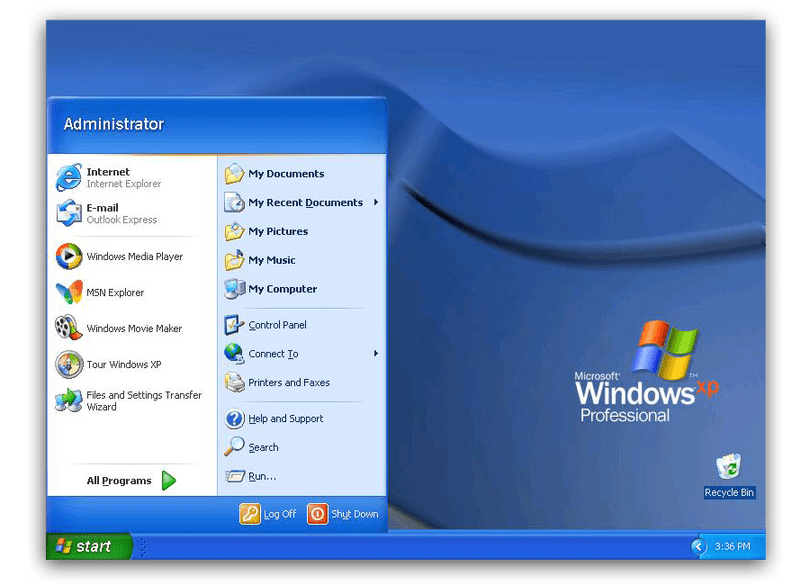 Windows xp start button png. The history of menu